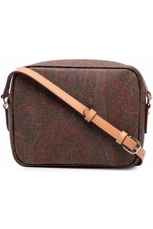 Etro Women Shoulder Bags - Paisley-print crossbody bag