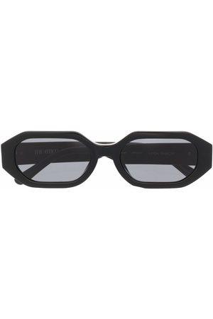 The Attico Irene rectangle-frame sunglasses