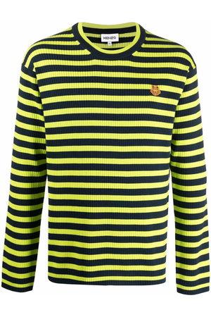 Kenzo Men Sweatshirts - Horizontal-stripe jumper