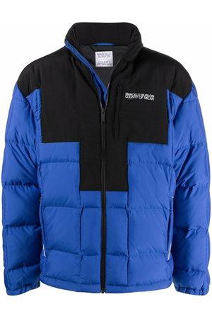 MARCELO BURLON Quilted cross block jacket