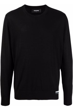 Dsquared2 Logo-print wool pullover