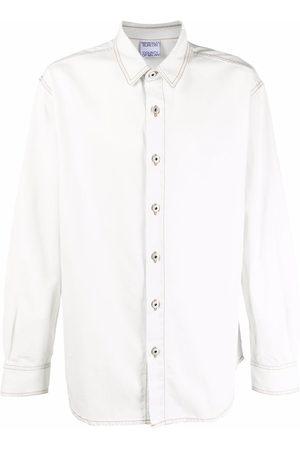 MARCELO BURLON Cross Wolf long-sleeve shirt