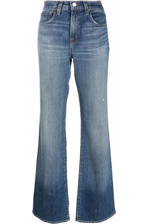 NILI LOTAN Flared denim jeans