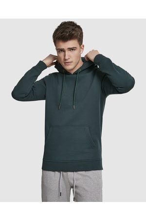 Urban Classics UC Basic Sweat Hoody - Hoodies (Bottlegreen) UC Basic Sweat Hoody