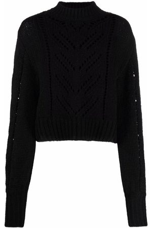 RED Valentino Women Sweaters - Pointelle-knit jumper