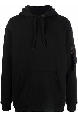 Moschino Zip pull pocket-detail hoodie