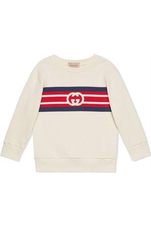 Gucci Kids Interlocking-G logo sweatshirt