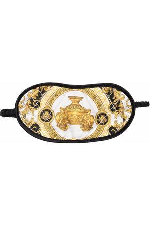 Versace Barocco print sleeping eye mask