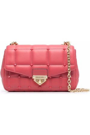 Michael Kors SoHo studded quilted-leather bag