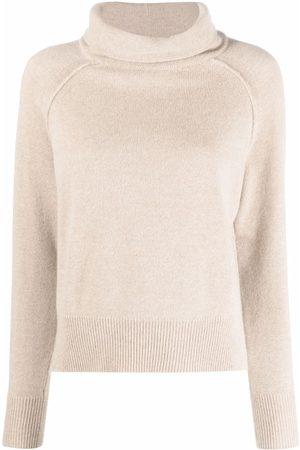Lorena Antoniazzi High neck wool-blend jumper