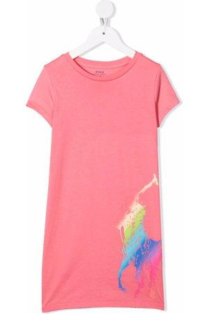 Ralph Lauren Big Pony-print T-shirt dress