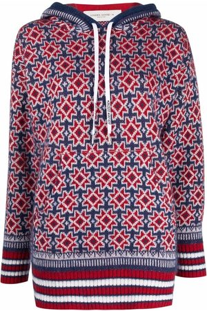 Golden Goose Star-detail knitted hoodie