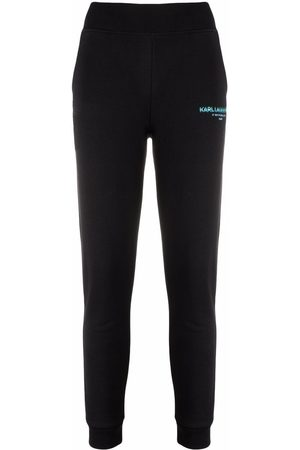 Karl Lagerfeld Logo-print track pants