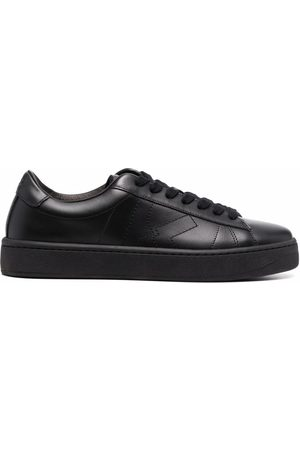 Kenzo Women Sneakers - Leather lace-up trainers