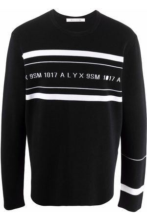 1017 ALYX 9SM Men Sweatshirts - Logo-print crew neck sweatshirt