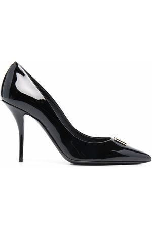 Dolce & Gabbana Women Heels - DG plaque point-toe pumps