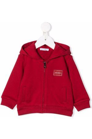 Dolce & Gabbana Bomber Jackets - Logo-patch cotton jacket