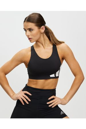 adidas Women Sports Bras - Ultimate High Support Logo Bra - Crop Tops ( & ) Ultimate High-Support Logo Bra