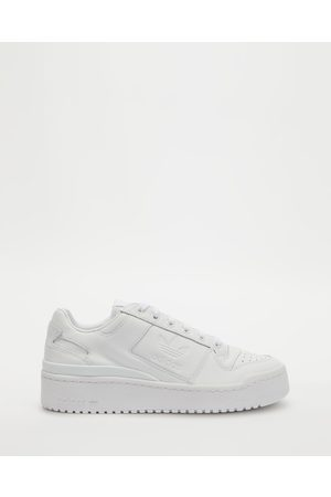 adidas Originals Women Sneakers - Forum Bold Shoes - Lifestyle Sneakers (Cloud & Core ) Forum Bold Shoes