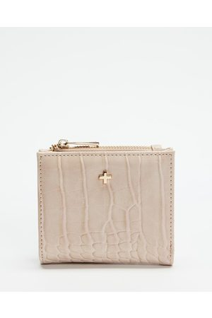 PETA AND JAIN Women Wallets - Joey Bifold Wallet - Wallets (Nude Croc) Joey Bifold Wallet