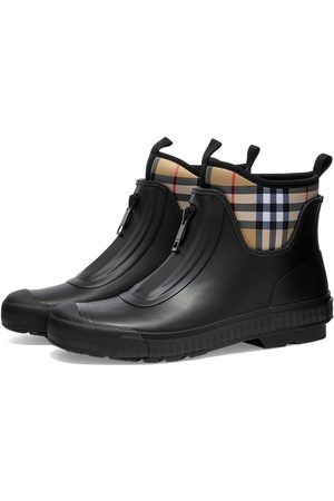 Burberry Men Wellingtons - Checked Rain Boot