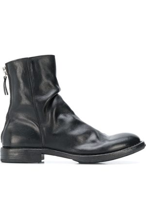 Moma Women Ankle Boots - Wrinkled ankle boots