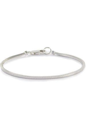 "Missoma Men Bracelets - ""Lucy Williams' Square Snake Chain Sterling Silver Bracelet"