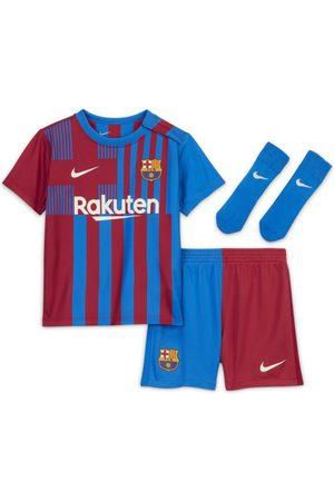 Nike F.C. Barcelona 2021/22 Home Baby & Toddler Football Kit