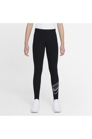 Nike Girls Sports Leggings - Sportswear Favourites Older Kids' (Girls') Graphic Leggings