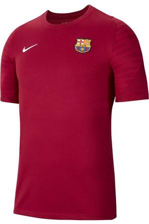 Nike F.C. Barcelona Strike Men's Short-Sleeve Football Top