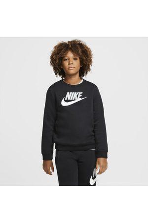 Nike Boys Sports T-shirts - Sportswear Club Fleece Older Kids' (Boys') Crew