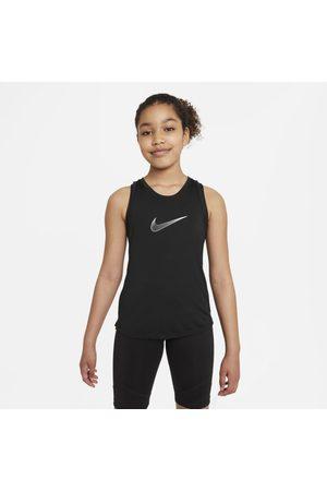 Nike Girls Sports T-shirts - Dri-FIT One Older Kids' (Girls') Training Tank