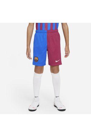 Nike F.C. Barcelona 2021/22 Stadium Home/Away Older Kids' Football Shorts