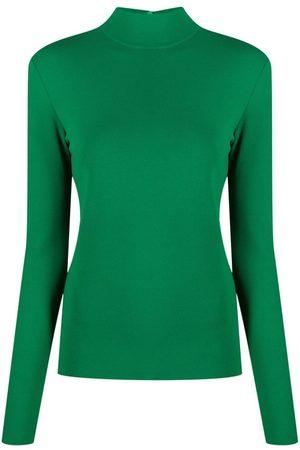 Stella McCartney Women Sweaters - Turtleneck compact-knit jumper