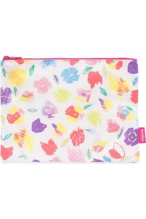 Familiar Girls Bags - Floral-print clutch bag