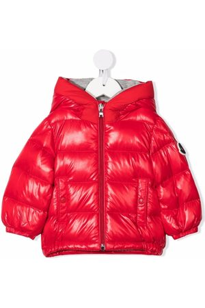 Moncler Winter Jackets - Padded quilted hooded down jacket