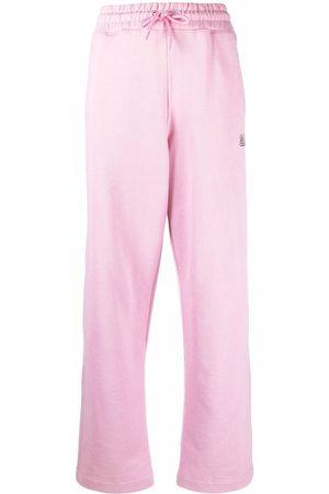 Ganni Software Isoli straight leg trousers