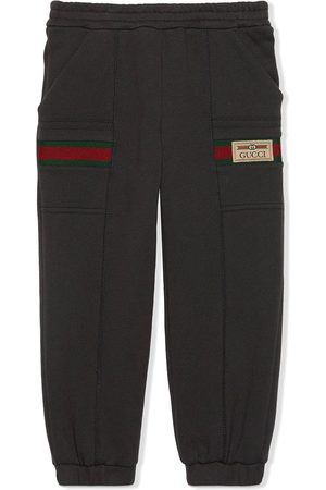 Gucci Web detail track trousers