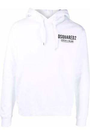 Dsquared2 Men Hoodies - Logo-print cotton hoodie