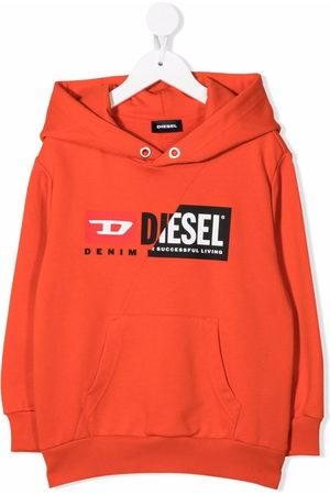Diesel Logo-print cotton hoodie