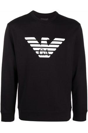 Emporio Armani Logo-print cotton sweatshirt