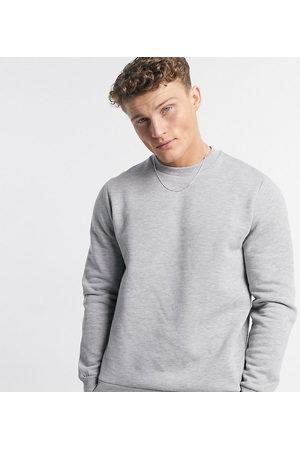 ASOS Men Sweatshirts - Sweatshirt in grey marl