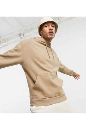 ASOS Oversized hoodie in beige-Neutral