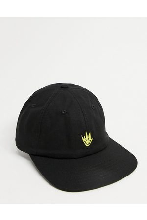 Afends Tito flame baseball cap in black