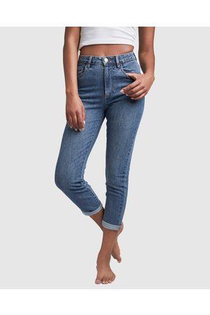 Cotton On Stretch Mom Jeans - Mom Jeans Stretch Mom Jeans