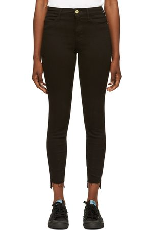 Frame Women Skinny - Le High Skinny' Raw Stagger Jeans
