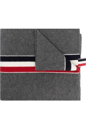 Thom Browne Men Scarves - RWB stripe wool scarf