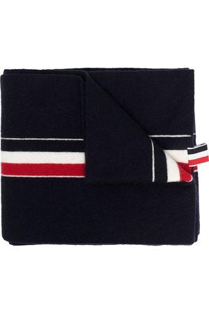Thom Browne RWB tri-stripe ribbon scarf