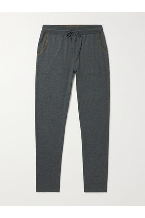 Loro Piana Tapered Cashmere and Cotton-Blend Sweatpants