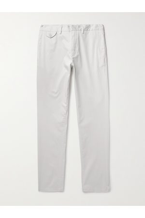 Orlebar Brown Men Skinny Pants - Myers Slim-Fit Stretch-Cotton Trousers